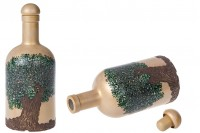 Bottle 500 ml olive oil-painted *