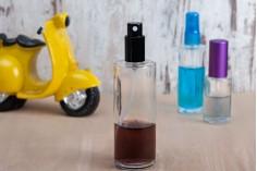 Offre! Flacon de parfum en verre rond 100 ml – De 0,60€ à 0,45€ par pièce (commande minimum: 1 carton)