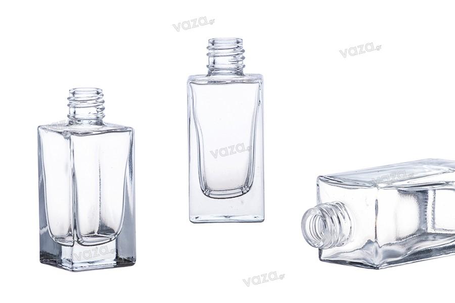 Τετράγωνη φιάλη αρωματοποιίας 30 ml (18/415)