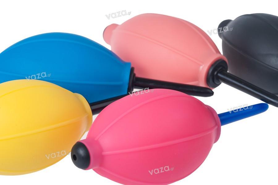 Φούσκες πλαστικές για φύσημα σε διάφορα χρώματα