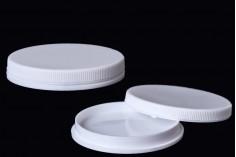 Βαζάκι πλακέ 5 ml πλαστικό για tester