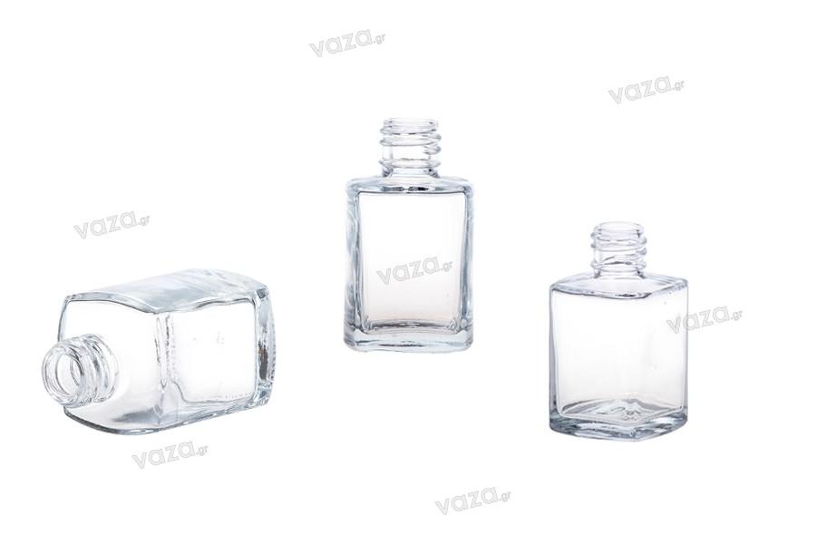 Offre! Flacon de parfum en verre carré 30 ml PP 18 – De 0,40€ à 0,18€ par pièce
