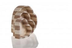 Κουτί ξύλινο σε σχήμα καρδιάς - σετ 3 τεμαχίων (S-M-L)