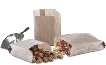 Χάρτινα σακουλάκια τροφίμων - κραφτ