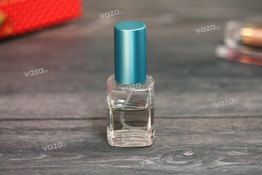 Offre! Flacon de parfum en verre carré 30 ml PP 18 – De 0,40€ à 0,18€ par pièce (commande minimum: 1 carton)