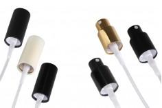 Spray aluminium PP18 avec couvercle adapté à l'huile aqueuse (infusion)