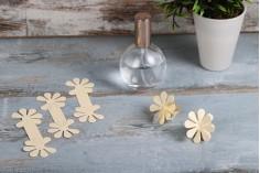 Χαρτάκια αρωματοποιού σε σχήμα λουλούδι - πακέτο 100 τεμαχίων