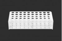 Στατώ σωληναρίων πλαστικό 238x110x55 mm σε λευκό χρώμα - 50 θέσεις (άνοιγμα τρύπας Φ 16 mm)