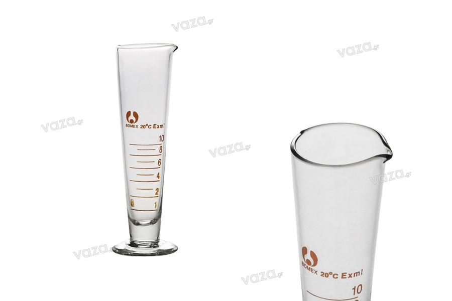 Ογκομετρικός κύλινδρος 10 ml γυάλινος