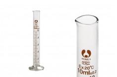 Ογκομετρικός γυάλινος σωλήνας 10 ml