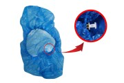 Ποδονάρια σε μπλε χρώμα μιας χρήσης (με γαντζάκια) - 100 τμχ