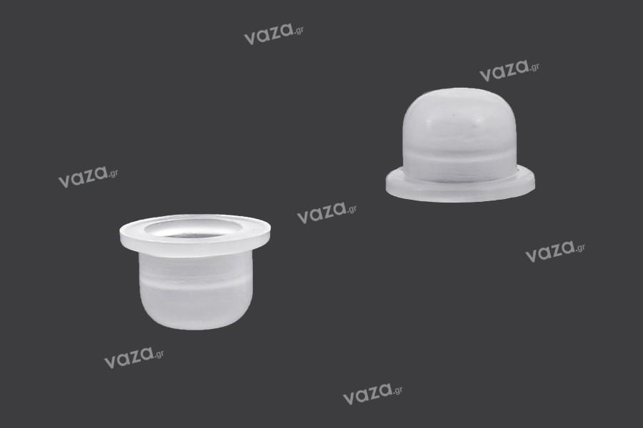 Τάπα πλαστική (PE) - διάμετρος 8 mm - 50 τμχ