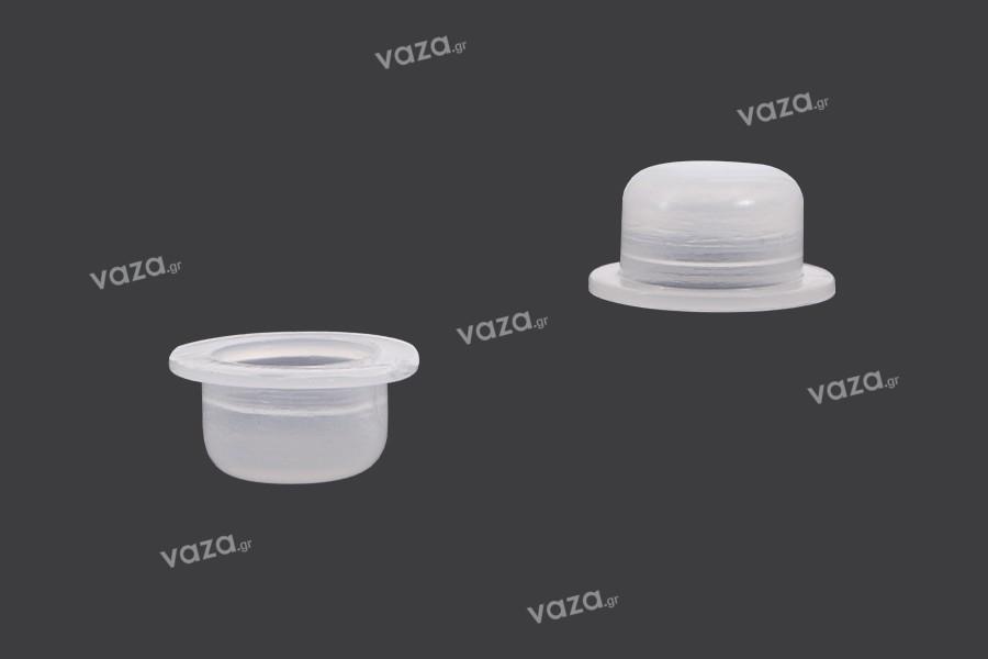 Τάπα πλαστική (PE) - διάμετρος 11 mm - 50 τμχ