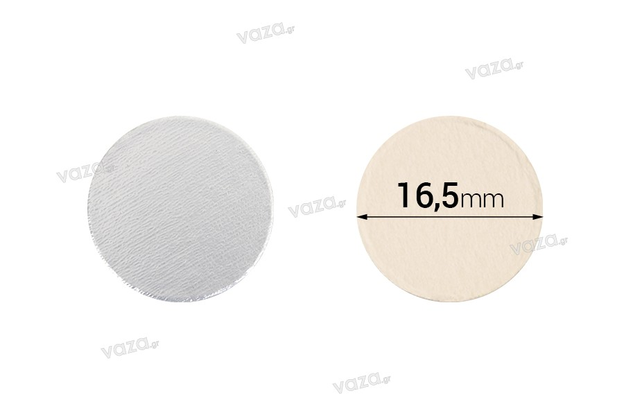 Παρεμβύσματα επαγωγικής σφράγισης (induction sealing) - 16,5 mm (πακέτο 100 τμχ)