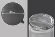 Αυτοκόλλητο παρέμβυσμα αλουμινίου 37 mm - 18 τμχ