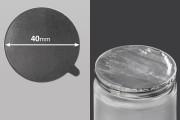 Αυτοκόλλητο παρέμβυσμα αλουμινίου 40 mm - 36 τμχ