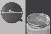 Joint autocollant argenté en aluminium 44mm- paquet de 18 pièces