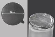 Αυτοκόλλητο παρέμβυσμα αλουμινίου 49 mm - 8 τμχ