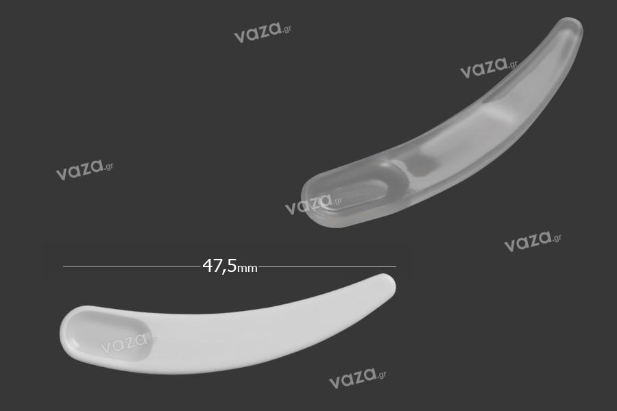 Σπάτουλα για κρέμα πλαστική (PE) 47,5 mm - 24 τμχ