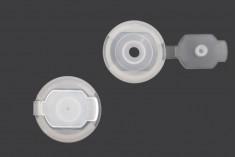 Τάπα πλαστική (PE) με καπάκι - διάμετρος 18,5 mm - 50 τμχ