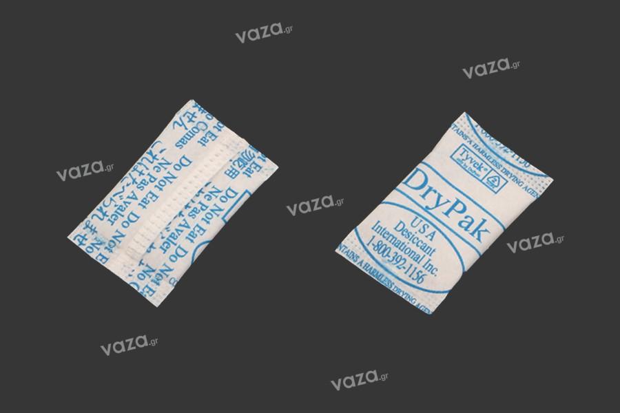 Φακελάκια silica gel 0,5 gr- απορροφητικό υγρασίας - 200 τμχ
