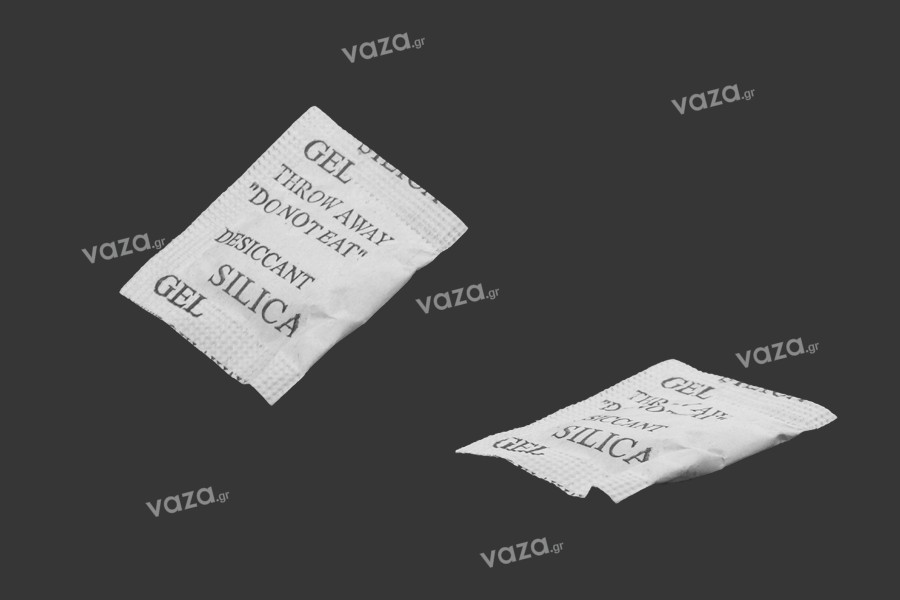 Φακελάκια silica gel 1 gr- απορροφητικό υγρασίας  - 200 τμχ