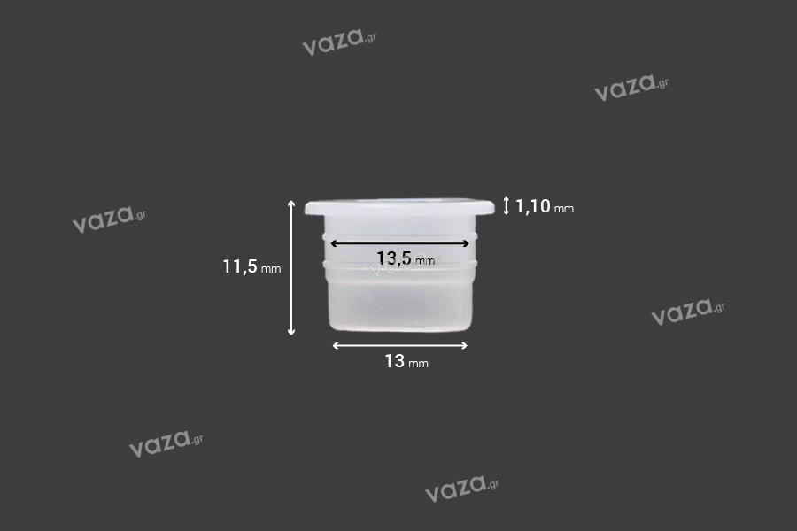Ελεγκτής ροής - αποστραγγιστήρας πλαστικός (PE) - διάμετρος 13 mm - 50 τμχ