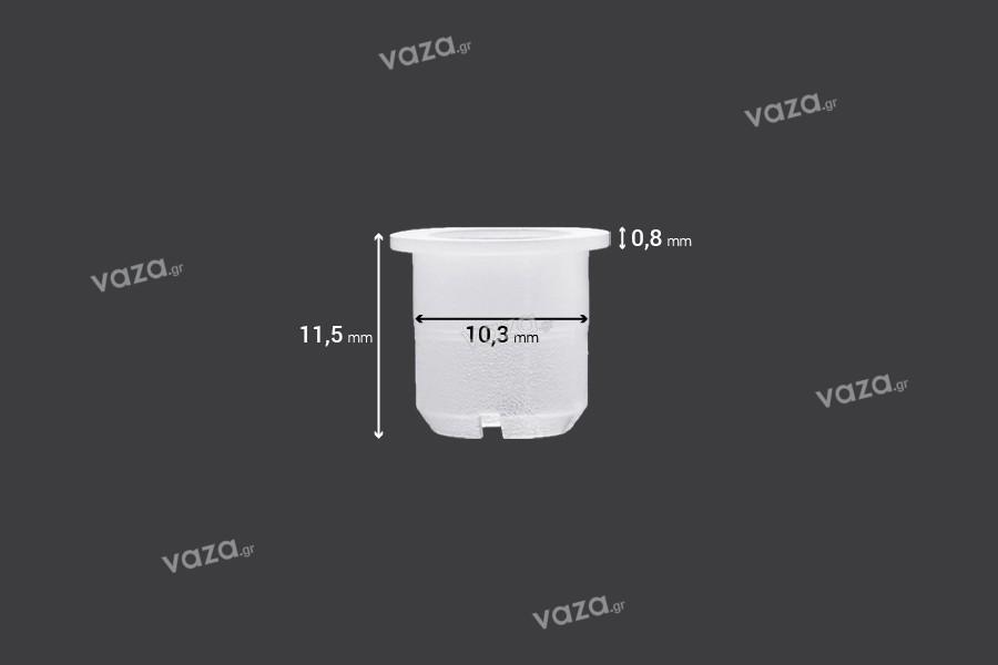 Ελεγκτής ροής - αποστραγγιστήρας πλαστικός (PE) - διάμετρος 10,3 mm - 50 τμχ
