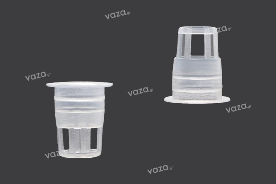 Ελεγκτής ροής - αποστραγγιστήρας πλαστικός (PE) - διάμετρος 10,4 mm - 50 τμχ