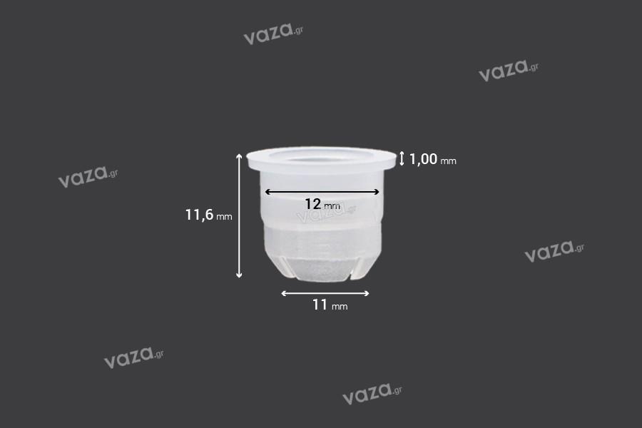 Ελεγκτής ροής - αποστραγγιστήρας πλαστικός (PE) - διάμετρος 12 mm - 50 τμχ