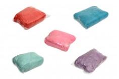 Φυσικό χόρτο διακόσμησης και συσκευασίας σε διάφορα χρώματα - 100 γρ.