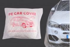 Κουκούλα αυτοκινήτου διάφανη, αδιάβροχη - μέγεθος medium (3,5 x 6 m)