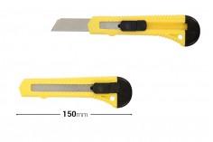 Κοπίδι γενικής χρήσης με ασφάλεια, πλαστική λαβή και ρυθμιζόμενη λάμα