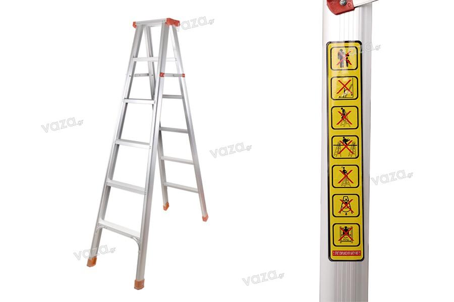 Σκάλα αλουμινίου πολλαπλών χρήσεων 2 m