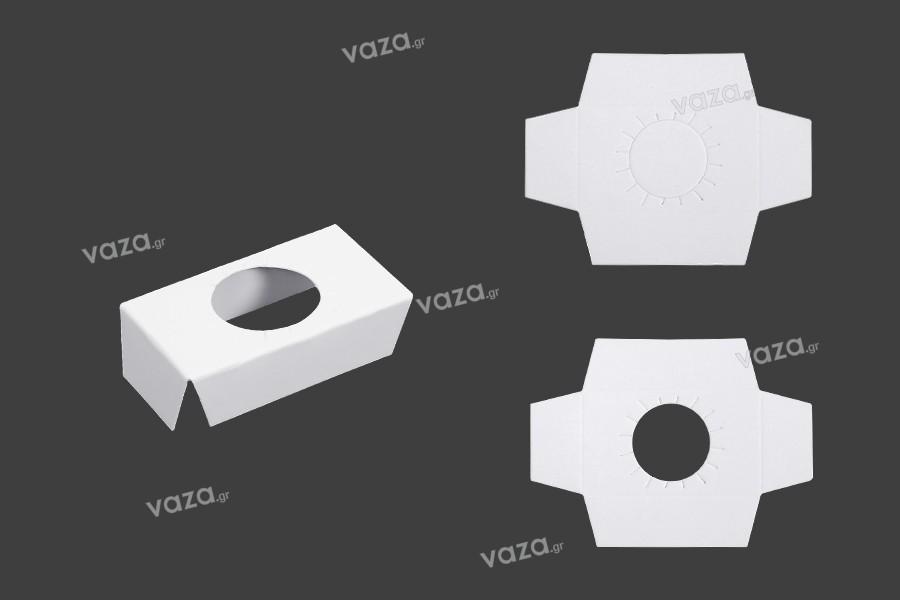 Εσωτερικό χάρτινο στήριγμα για κουτάκια φιαλών 100 ml - 50 τμχ