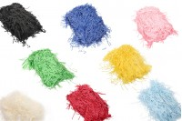 Χόρτο συσκευασίας από χαρτί σε διάφορα χρώματα - 100 γρ.