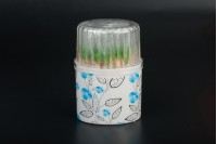 Οδοντογλυφίδες με μέντα σε ατομική συσκευασία - Βαρελάκι 100 τμχ