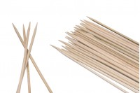 Καλαμάκια - ξυλάκια  για σουβλάκια 250 x 3 mm - 100τμχ