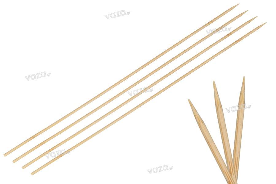Καλαμάκια - ξυλάκια  για σουβλάκια 300 x 3 mm - 100 τμχ