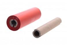 Μελανοταινία Wax Resin OUT 110x74 1/2'' σε κόκκινο χρώμα