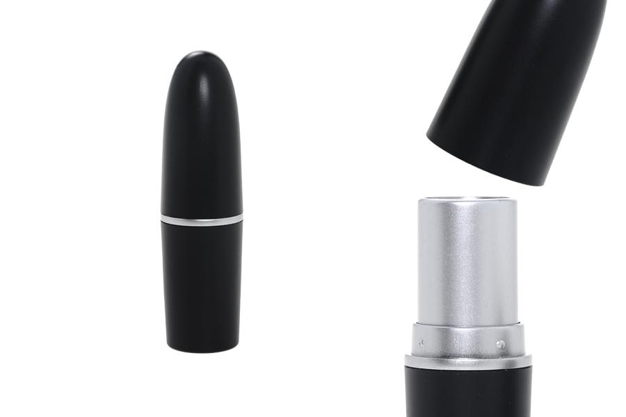 Θήκη για κραγιόν - lip stick σε μαύρο χρώμα