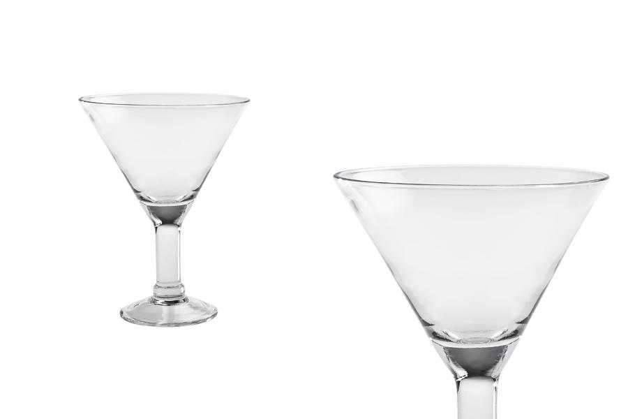 Ποτήρι Μαρτίνι γυάλινο 180x140 mm