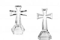 Croix en verre décoratif (21cm)