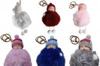 Porte-clés doux sous forme de bébé-différentes couleurs