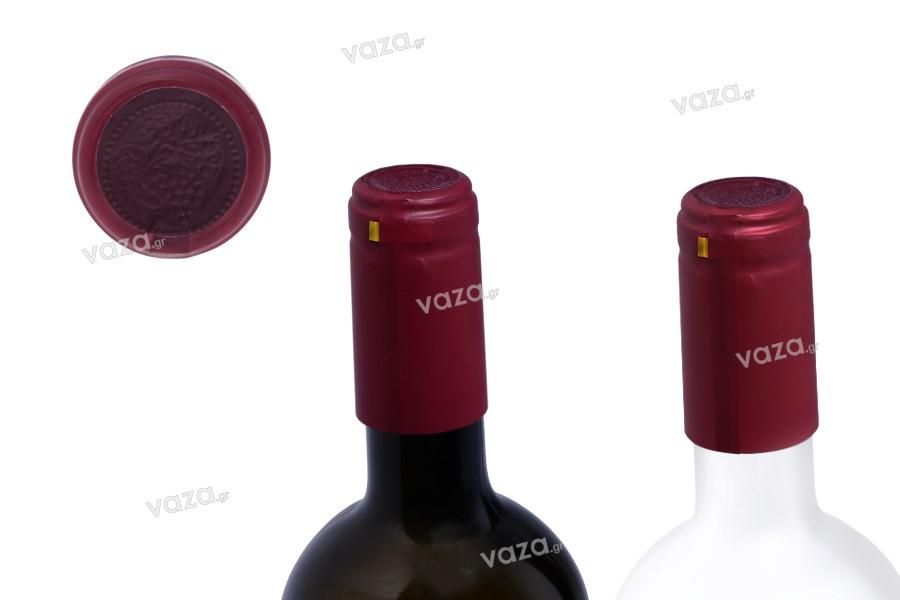 Καψύλιο 30,5x60 mm θερμοσυρρικνούμενο για μπουκάλι κρασιού με λαιμό μέχρι 30 mm