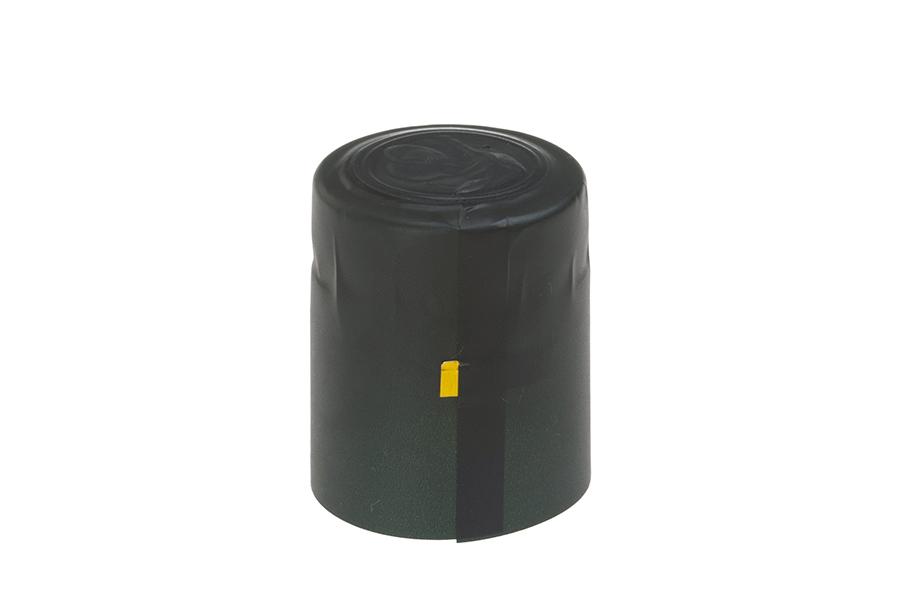 Καψύλιο 32,3x45 mm θερμοσυρρικνούμενο πράσινο για μπουκάλι με λαιμό μέχρι 32 mm