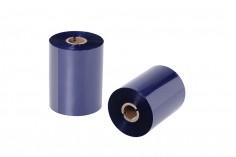 Μελανοταινία Wax Resin OUT 1'' σε μπλε χρώμα 110x600