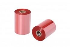 Μελανοταινία Wax Resin OUT σε κόκκινο χρώμα 110x600