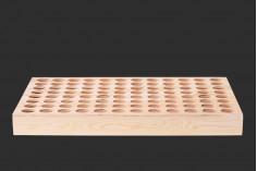 Σταντ (stand) ξύλινο 428x288x42- 96 θέσεων