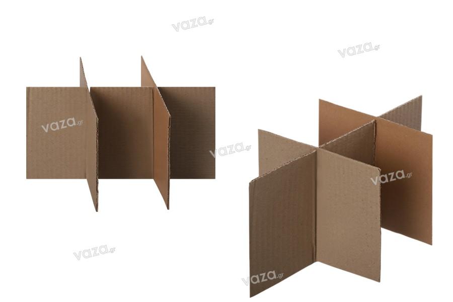 Κυψέλη για Χαρτοκιβώτιο 27x18,5x22 καφέ 3-φυλλο (No4) - 20 τμχ